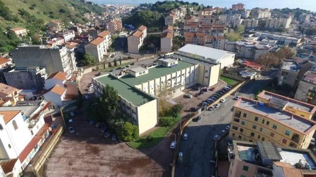 Vista aerea dell'Istituto (foto realizzata con Drone)