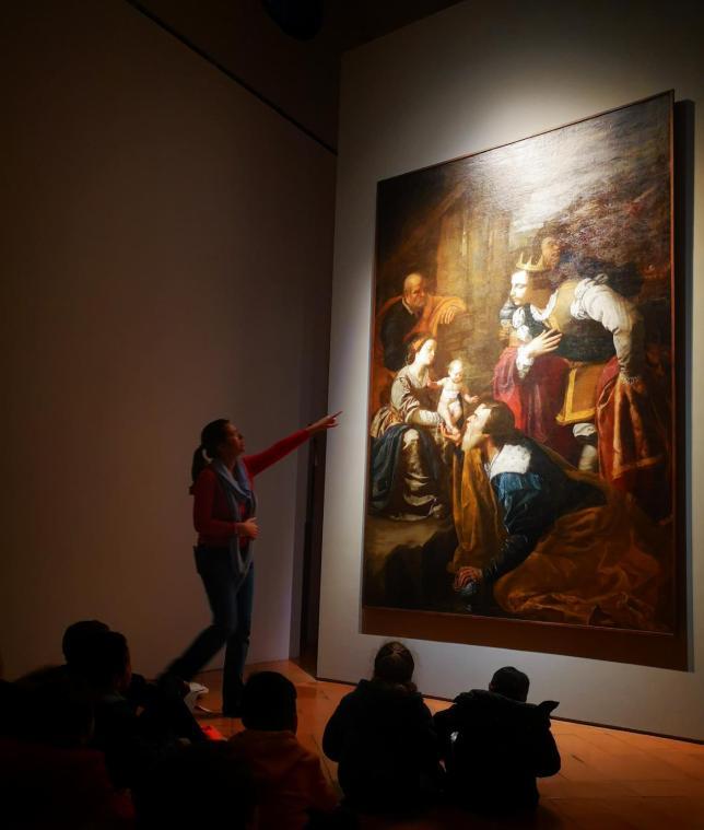 Visita alla mostra di De Chirico, Palazzo Reale, Milano